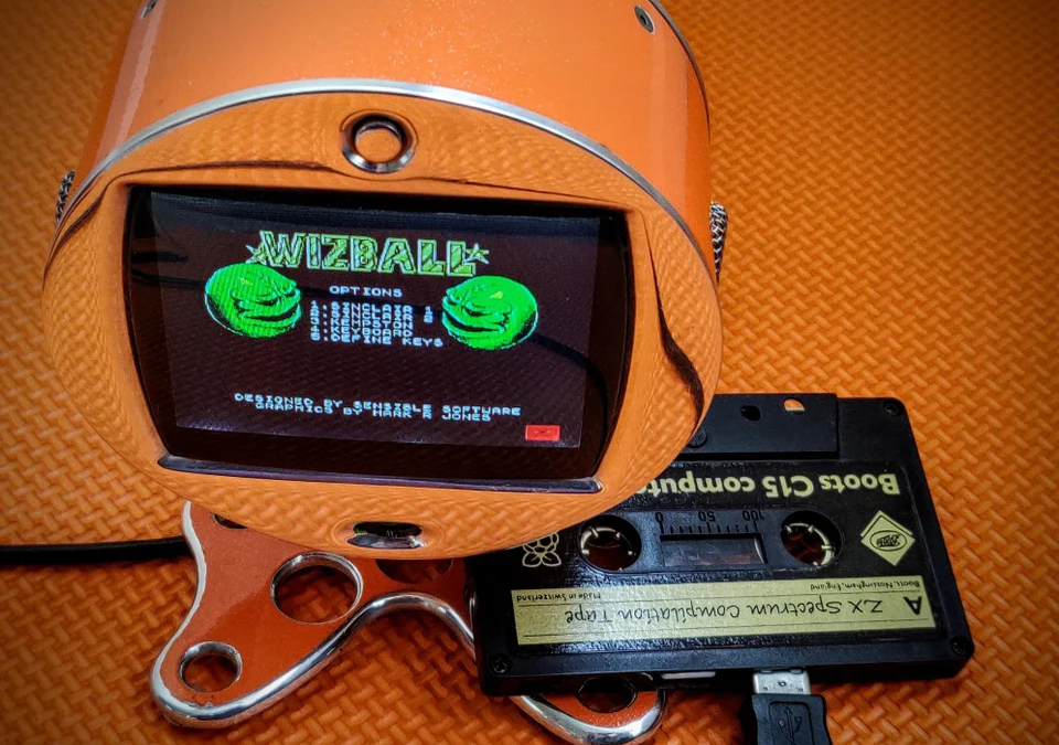 Un Rpi Zero dans une K7 de ZX Spectrum